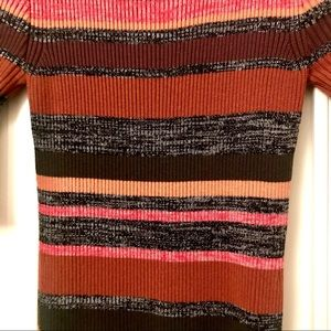 Topshop Dresses - TOPSHOP KNITTED STRIPED DRESS